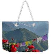 Annapurnas And Prayer Flags Weekender Tote Bag