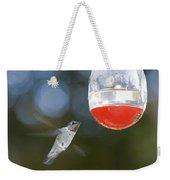 Annas Hummingbird Calypte Anna Weekender Tote Bag