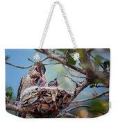 Anna's Hummingbirds Weekender Tote Bag