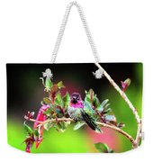 Anna's In The Garden Weekender Tote Bag