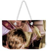 Anne Of Cleves With Prince Edward Weekender Tote Bag