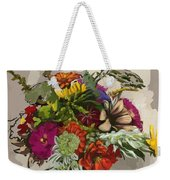 Anne's Flowers Weekender Tote Bag