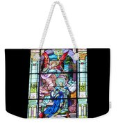 Annuciation Of Virgin Mary Mother Most Holy Weekender Tote Bag