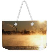 Another Cold Day Weekender Tote Bag
