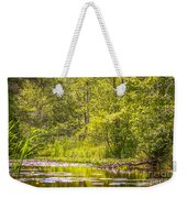 Another Day At The Lake Weekender Tote Bag