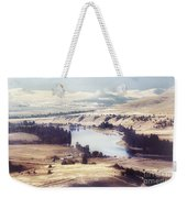 Another Flathead River Image Weekender Tote Bag