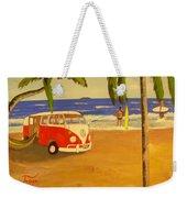 Another Groovy Beach Weekend Weekender Tote Bag