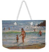 Another Hot Day Weekender Tote Bag