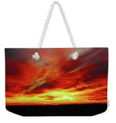 Another Illinois Sunset Weekender Tote Bag