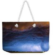 Another Impressive Nebraska Night Thunderstorm 008/ Weekender Tote Bag