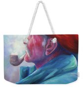 Another Side Of St. Francis Weekender Tote Bag
