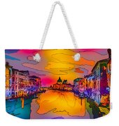 Another Surreal Venice Sunset Weekender Tote Bag