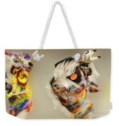 Pow Wow Another World Another Time Weekender Tote Bag