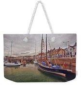 Anstruther Harbor Weekender Tote Bag