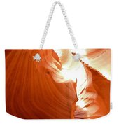 Antelope Canyon Scuplture Weekender Tote Bag