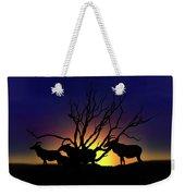 Antelope Crossing Weekender Tote Bag
