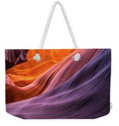 Antelope Rainbow Color Wave  Weekender Tote Bag