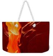 Antelope Textures And Flames Weekender Tote Bag