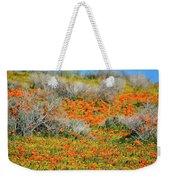Antelope Valley Poppies Weekender Tote Bag