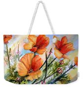 Antelope Valley Poppy Fields Weekender Tote Bag