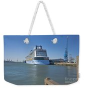 Anthem Of The Seas Southampton Weekender Tote Bag