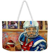 Anthony Calvillo Weekender Tote Bag
