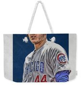 Anthony Rizzo Chicago Cubs 3 Weekender Tote Bag