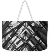 Anthony Skylights Grayscale Weekender Tote Bag
