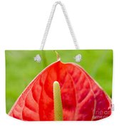 Anthurium Close-up Weekender Tote Bag