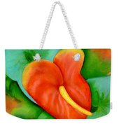 Anthurium Flowers #228 Weekender Tote Bag