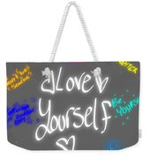 Anti Depression Weekender Tote Bag