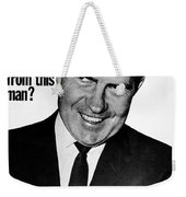 Anti-nixon Poster, 1960 - To License For Professional Use Visit Granger.com Weekender Tote Bag