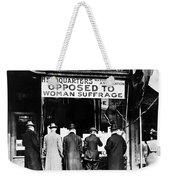 Anti-suffrage Association Weekender Tote Bag
