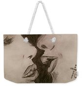 Anticipation Of A Kiss Weekender Tote Bag