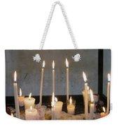 Antigua Church Candles Weekender Tote Bag