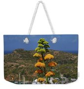 Antigua National Flower  Weekender Tote Bag