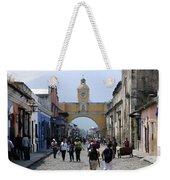 Antigua Street Scene Weekender Tote Bag