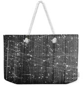 Antineutron, Bubble Chamber Event Weekender Tote Bag