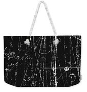 Antiproton Display, Bubble Chamber Event Weekender Tote Bag