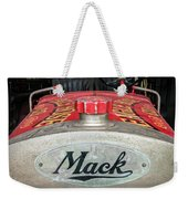 Antique 1930 Mack Bc-cd Fire Truck Weekender Tote Bag