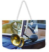 Antique Brass Car Horn Weekender Tote Bag