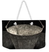 Antique Bucket For Your Modern List Weekender Tote Bag