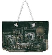 Antique Camera Weekender Tote Bag