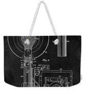 Antique Camera Flash Patent Weekender Tote Bag