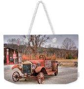 Antique Car And Filling Station 1 Weekender Tote Bag