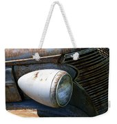 Antique Car Headlight Weekender Tote Bag