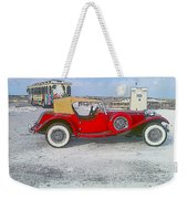 Antique Car Weekender Tote Bag