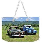 Antique Cars  Weekender Tote Bag