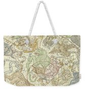 Antique Celestial Map Weekender Tote Bag