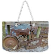 Antique Corn Planter Weekender Tote Bag